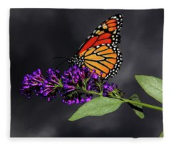 Drink Deeply Of This Moment Fleece Blanket