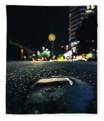 Dropped Pin Fleece Blanket