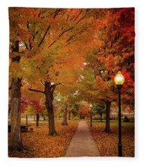 Drury Autumn Fleece Blanket