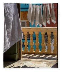 Drying Napkins Fleece Blanket