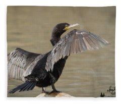 Drying Off Fleece Blanket