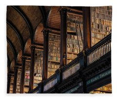Dublin Trinity College  Fleece Blanket