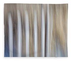 Dune Fence Fleece Blanket