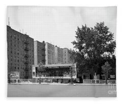 Dyckman Street And Riverside Drive, 1932 Fleece Blanket