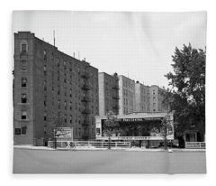 Dyckman Street And Riverside Drive, 1932 Fleece Blanket
