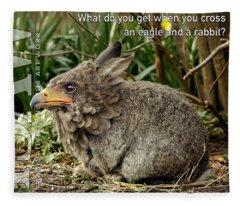Eaglabbit Fleece Blanket