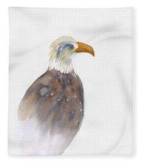 Eagle Portrait Fleece Blanket