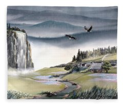 Eagle View Fleece Blanket