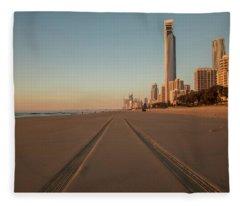Early Morning Light Fleece Blanket