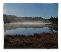 Early Morning Fleece Blanket