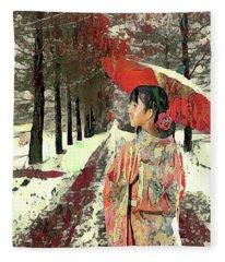 Early Snow Fleece Blanket