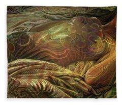 Earth Evening Fleece Blanket