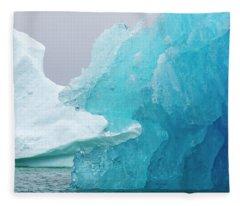 Eating The Iceberg Fleece Blanket