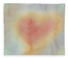 Echoes Of Love Fleece Blanket