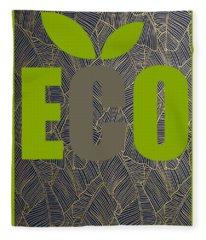 Eco Green Fleece Blanket