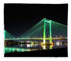 Ed Henley Bridge Fleece Blanket