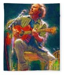 Eddie Vedder Fleece Blanket