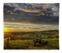 Eden At Sunrise Fleece Blanket