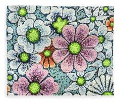 Efflorescent 1 Fleece Blanket