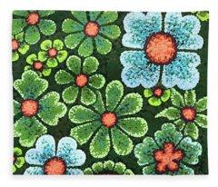 Efflorescent 10 Fleece Blanket