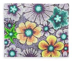 Efflorescent 11 Fleece Blanket