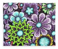 Efflorescent 12 Fleece Blanket
