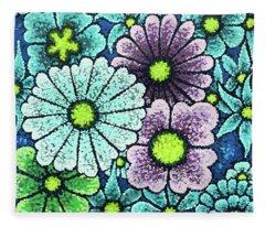 Efflorescent 2 Fleece Blanket