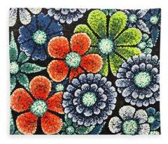 Efflorescent 3 Fleece Blanket