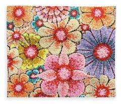 Efflorescent 4 Fleece Blanket