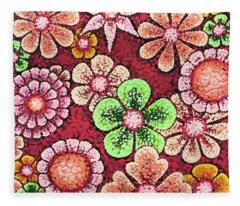 Efflorescent 5 Fleece Blanket