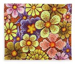 Efflorescent 6 Fleece Blanket