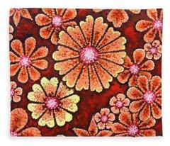 Efflorescent 7 Fleece Blanket