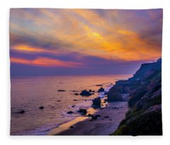 El Matador Sunset Fleece Blanket