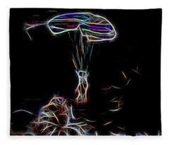 Electric Parachute Fleece Blanket