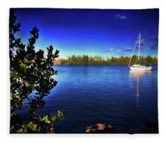 Elixir Sailboat Fleece Blanket