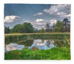 Ellis Pond Fleece Blanket