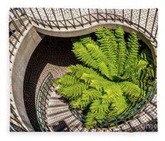 Embarcadero Stairway Fleece Blanket