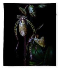 Emerging Paphs Fleece Blanket