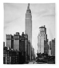 Empire State Building - 1931 Fleece Blanket