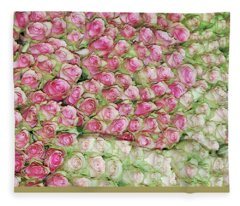 Empress Josephine's Roses Fleece Blanket