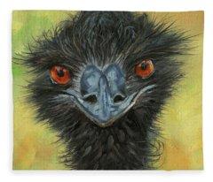 Australian Wildlife Paintings Fleece Blankets