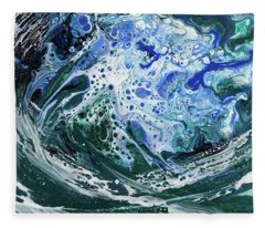 Enchanted Wave Fleece Blanket