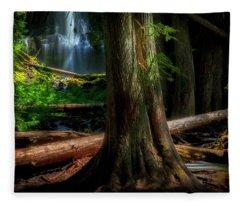Enchanting Forest Fleece Blanket