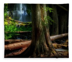 Enchanting Forest Fleece Blanket