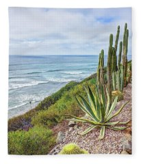 Encinitas Fleece Blanket