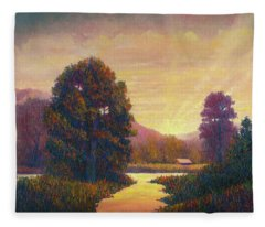 End Of Day Fleece Blanket