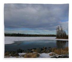 End Of The Road Fleece Blanket