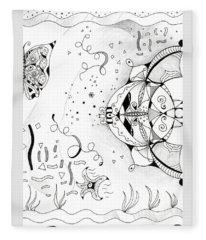 Endless Flow Fleece Blanket