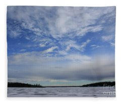 Endless Sky Fleece Blanket