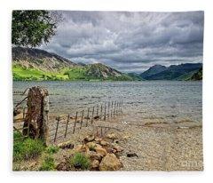 Ennerdale Water, Lake District Fleece Blanket